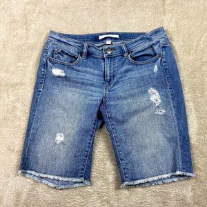 ✿❀ Loft Jean Bermuda Shorts Womens Size 2 XS